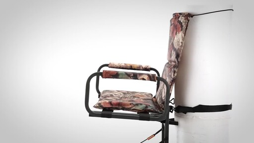 Guide Gear Deluxe Hunting Hang-On Tree Stand - image 3 from the video