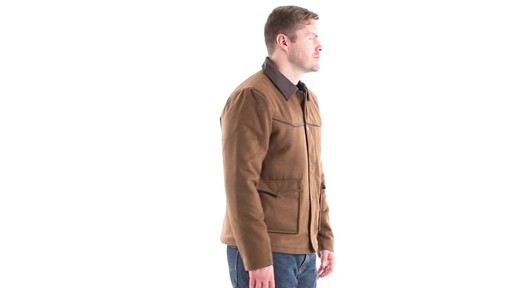 Guide Gear Men's Drover Jacket 360 View - image 2 from the video