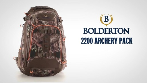 Bolderton 2200 Archery Pack - image 1 from the video