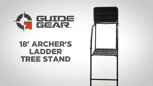 Guide Gear 18' Archer's Ladder Tree Stand - image 1 from the video