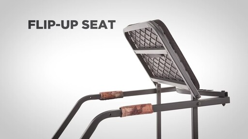 Guide Gear 18' Archer's Ladder Tree Stand - image 3 from the video