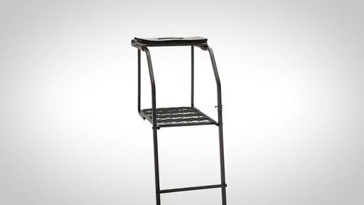 Guide Gear 18' Archer's Ladder Tree Stand - image 8 from the video