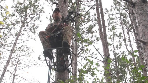 Guide Gear Hunting Hang On Tree Stand - image 1 from the video