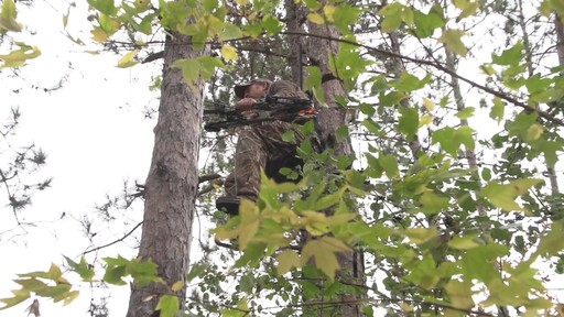 Guide Gear Hunting Hang On Tree Stand - image 2 from the video