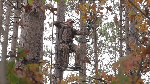 Guide Gear Hunting Hang On Tree Stand - image 3 from the video