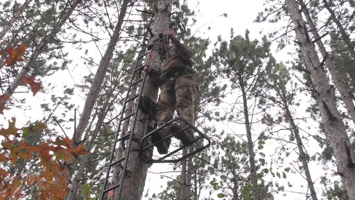 Guide Gear Hunting Hang On Tree Stand - image 6 from the video