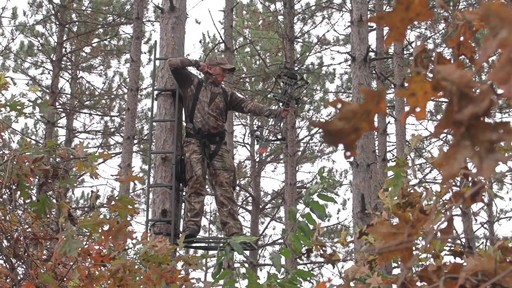 Guide Gear Hunting Hang On Tree Stand - image 7 from the video