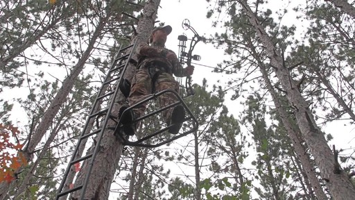Guide Gear Hunting Hang On Tree Stand - image 8 from the video