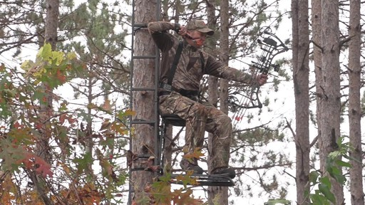 Guide Gear Hunting Hang On Tree Stand - image 9 from the video