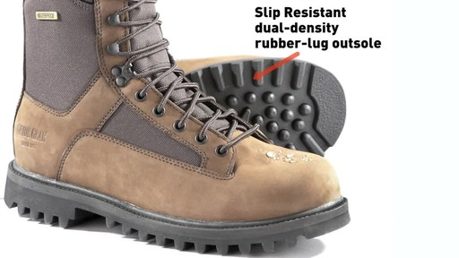 Guide Gear Men's Insulated Hunting Boots Waterproof Thinsulate 400 gram - image 3 from the video