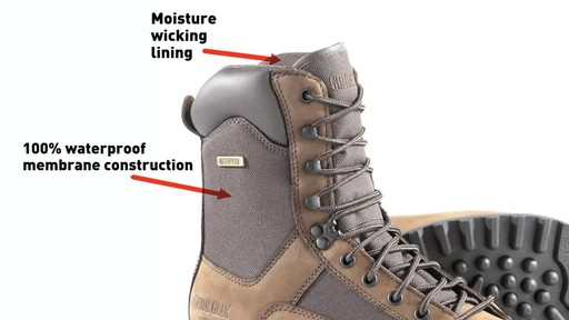 Guide Gear Men's Insulated Hunting Boots Waterproof Thinsulate 400 gram - image 5 from the video