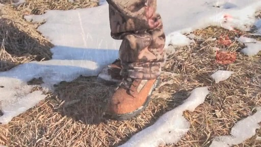 Guide Gear Men's Insulated Hunting Boots Waterproof Thinsulate 400 gram - image 9 from the video