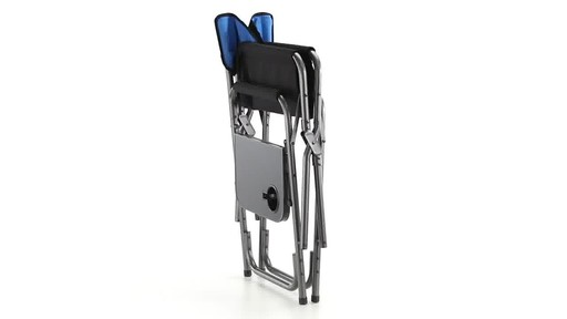 Guide Gear Oversized Tall Directors Chair Blue 500-lb. Capacity - image 10 from the video