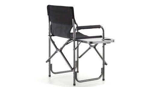 Guide Gear Oversized Tall Directors Chair Blue 500-lb. Capacity 360 View - image 4 from the video