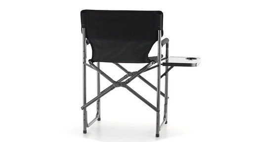 Guide Gear Oversized Tall Directors Chair Blue 500-lb. Capacity - image 5 from the video