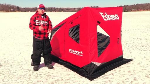Eskimo Evo 1 Man Crossover Ice Shelter 187 Sportsman S Guide
