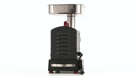 Guide Gear Series #12 Commercial Grade Electric Meat Grinder .75 HP 360 View - image 7 from the video