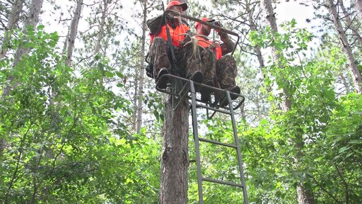 Sniper 174 15 Deluxe 2 Man Ladder Stand 187 Sportsman S Guide