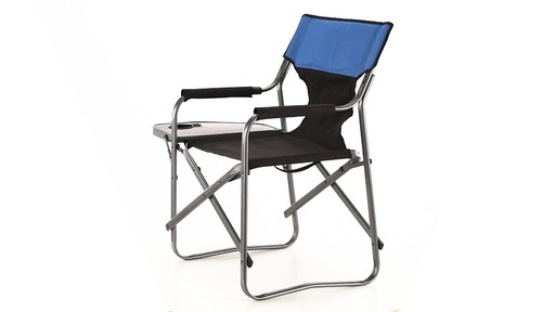 Guide Gear Oversized Directors Chair 500 lb. Capacity 360 View - image 2 from the video