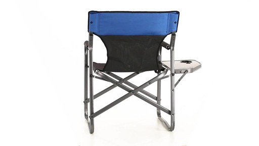 Guide Gear Oversized Directors Chair 500 lb. Capacity 360 View - image 4 from the video