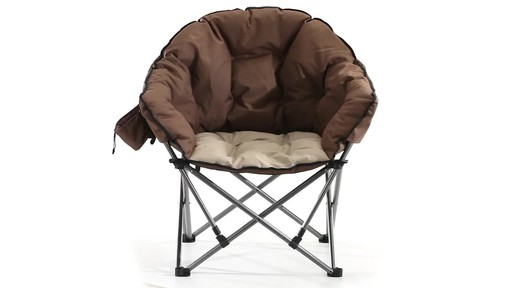 Guide Gear Oversized Club Camp Chair 500-lb. Capacity 360 View - image 1 from the video
