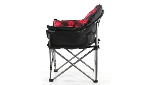 Guide Gear Oversized Club Camp Chair 500-lb. Capacity 360 View - image 6 from the video