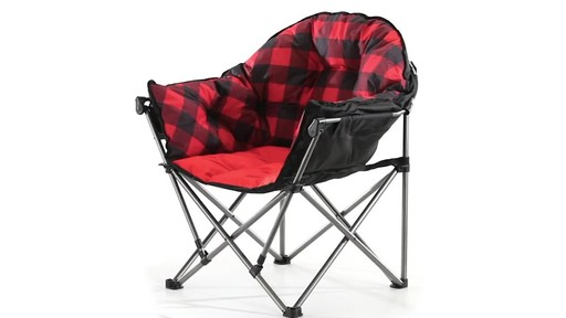 Guide Gear Oversized Club Camp Chair 500-lb. Capacity 360 View - image 7 from the video