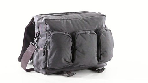 U.S. Military Surplus Tactical Range Bag 360 View - image 7 from the video