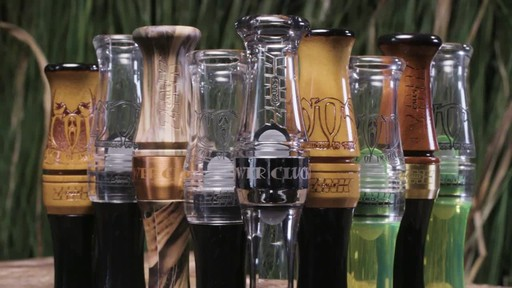Zink Call Of Death Polycarbonate Goose Call Smoke - image 3 from the video