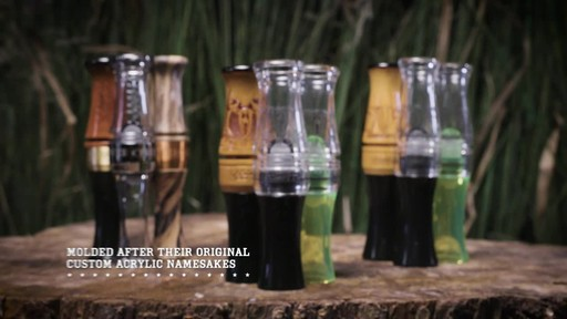 Zink Call Of Death Polycarbonate Goose Call Smoke - image 4 from the video