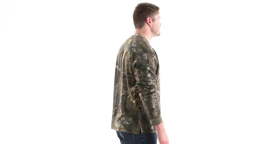 Guide Gear Men's Realtree Xtra Henley Shirt 360 View - image 4 from the video