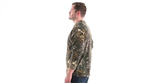 Guide Gear Men's Realtree Xtra Henley Shirt 360 View - image 8 from the video