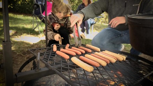 Guide Gear Campfire Cooking Equipment Set - image 7 from the video