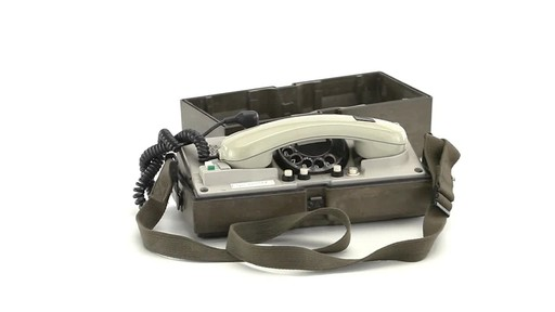 German Military Surplus Field Phone Used 360 View - image 3 from the video