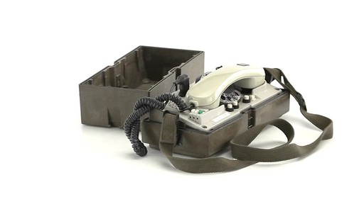 German Military Surplus Field Phone Used - image 4 from the video