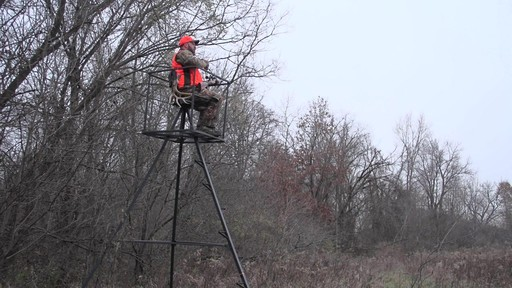 Guide Gear 13' Deluxe Tripod Deer Stand - image 1 from the video