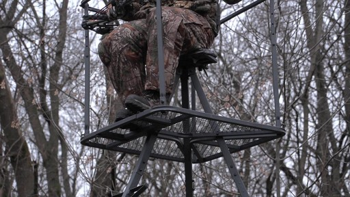 Guide Gear 13' Deluxe Tripod Deer Stand - image 2 from the video