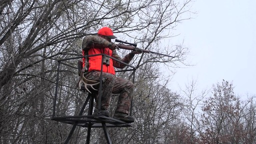 Guide Gear 13' Deluxe Tripod Deer Stand - image 3 from the video
