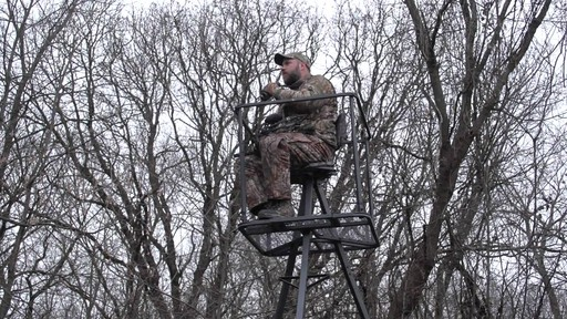 Guide Gear 13' Deluxe Tripod Deer Stand - image 4 from the video