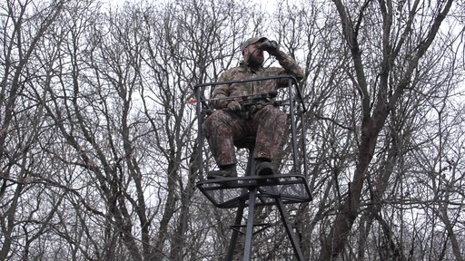 Guide Gear 13' Deluxe Tripod Deer Stand - image 5 from the video