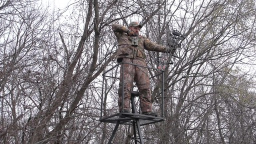 Guide Gear 13' Deluxe Tripod Deer Stand - image 7 from the video