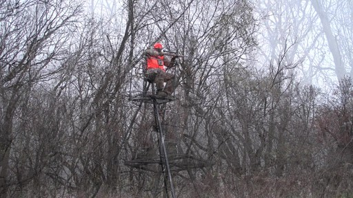 Guide Gear 13' Deluxe Tripod Deer Stand - image 8 from the video