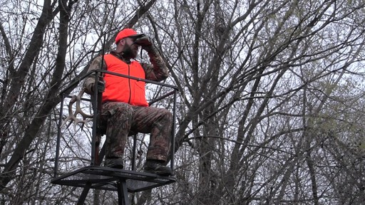 Guide Gear 13' Deluxe Tripod Deer Stand - image 9 from the video