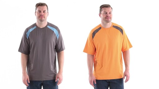 Guide Gear Men's Performance Fishing Short Sleeve T-Shirt 360 View - image 1 from the video