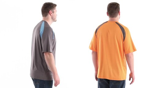 Guide Gear Men's Performance Fishing Short Sleeve T-Shirt 360 View - image 4 from the video