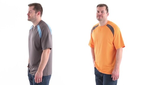 Guide Gear Men's Performance Fishing Short Sleeve T-Shirt 360 View - image 8 from the video