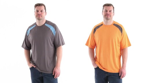 Guide Gear Men's Performance Fishing Short Sleeve T-Shirt 360 View - image 9 from the video
