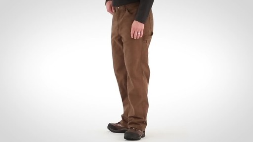 Gravel Gear Men's Duck Carpenter Work Pants - image 9 from the video