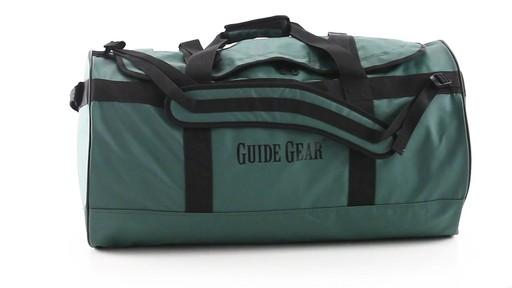 Guide Gear Waterproof Duffel Bag 90 Liters 360 View - image 1 from the video