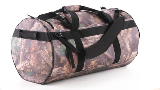 Guide Gear Waterproof Duffel Bag 90 Liters 360 View - image 6 from the video